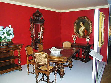b rgerliches wohn und speisezimmer um 1890 thema leben und wohnen. Black Bedroom Furniture Sets. Home Design Ideas