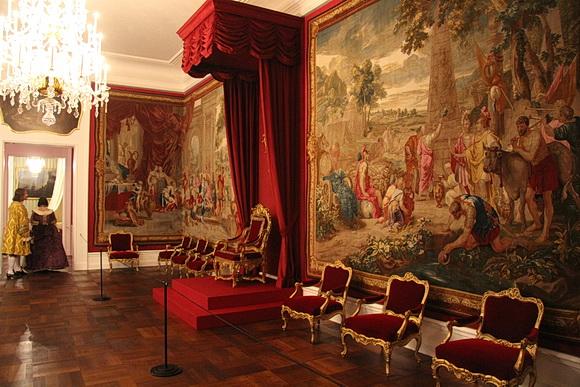 nachrichten aus dem kulturerbe beletage des barockschlosses bruchsal wieder er ffnet. Black Bedroom Furniture Sets. Home Design Ideas