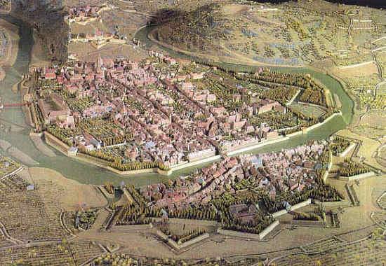 Plan Ville Lille Ancien