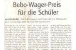 Bebo Wagner Preis