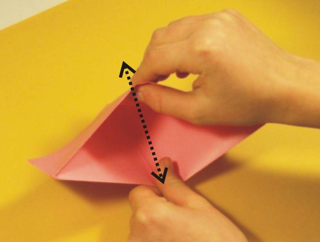 Wie man ein Origami Boot bastelt | Basteln mit Papier | Vorlagen ... | 828x1096