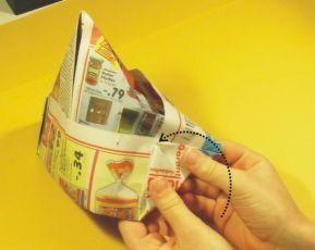 papier malerhut falten