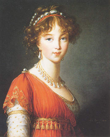 HIM Empress Elisaveta Aleksejevna of Russia née Grand-Ducal Princess and Margravine Luise of Baden