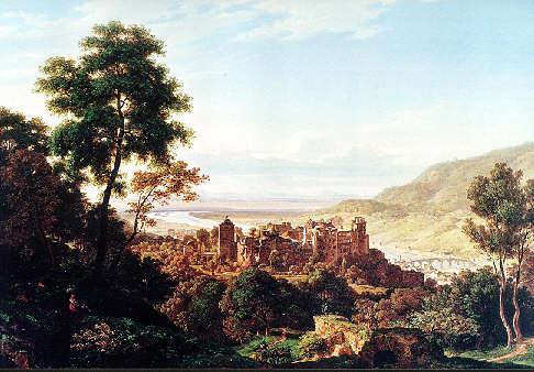 Künstler Heidelberg biedermeier kunst und kultur in heidelberg 1815 1853