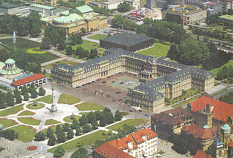 Stuttgart neues schloss for Neue architektur stuttgart